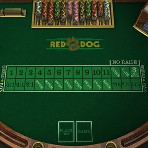 Red Dog Spiel